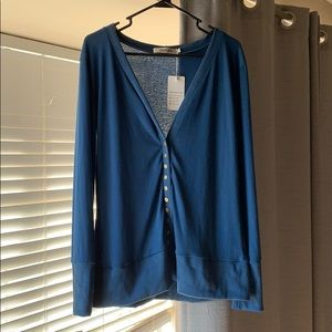 Women's button down cardigan sweater
